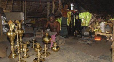 Columbus Tours - Brass Cutting Sri Lanka - 01